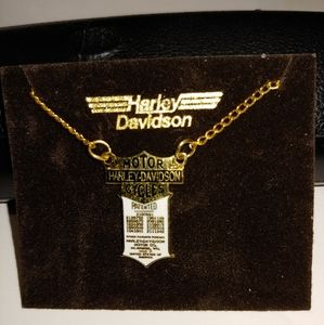 Harley davidson necklace